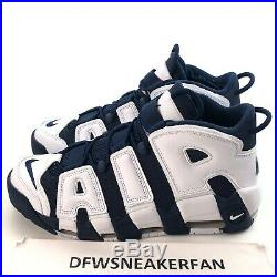 Nike Olympic Air More Uptempo USA Mens 15 Scottie Pippen Shoes 414962-104 New
