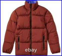 Nikelab Nrg Reversible Puffer Jacket Szmns Large #aj1992 250 Retail $300