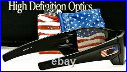 OAKLEY SI BATWOLF PRIZM BLACK IRIDIUM OO9101-5927 Matte Black Flag Icon USA MADE
