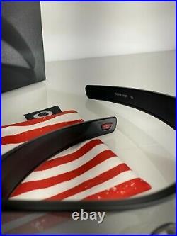 Oakley Batwolf SI 9101-5927 Matte Black PRIZM Black American Flag Red White Blue