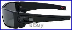 Oakley Batwolf Sunglasses OO9101-6027 Matte Black Prizm Black USA FLAG ICON