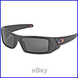 Oakley GASCAN, American Flag, Black Frame, Grey Lens, NON-POLARIZED Sunglasses