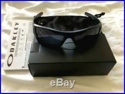 Oakley Gascan 11-192 USA American Flag, Matte Black / Grey Sunglasses