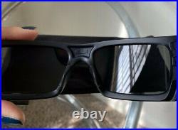 Oakley SI Det-Cord Sunglasses OO9253-01 USA ICON FLAG MATTE BLK Z87+L3 Gray Lens