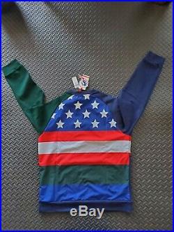 POLO RALPH LAUREN Contrast Print Sweatshirt Holiday Men's Size Medium NWT $298