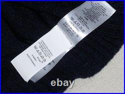 POLO RALPH LAUREN Men's Classic Fit Wool BLUE JEAN JACKET BEAR Knit Sweater NAVY