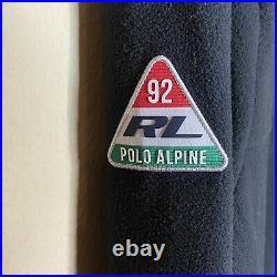 POLO RALPH LAUREN Men's Jacket XL P Racing 1992 Patch Alpine Fleece Zip $298