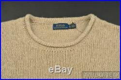 POLO RALPH LAUREN RL 67 American Flag USA Linen Cotton Crewneck Sweater XL