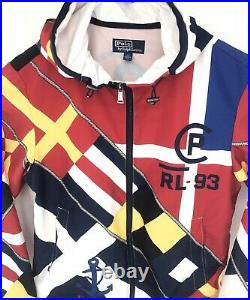 POLO Ralph Lauren 1993 Limited Edition 92 CP-93 Sailing Hoodie/ Jacket Medium