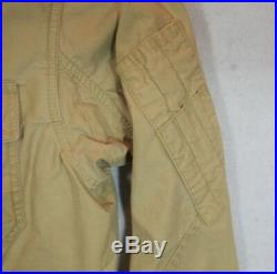 Polo Ralph Lauren 772 USA American Flag Patch Military Jacket USRL 67 L NWT
