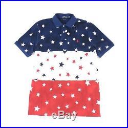 Polo Ralph Lauren Americana Polo Shirt USA American Flag Stars 2XL XXL $136.00