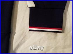 Polo Ralph Lauren Full Zip Fleece Sweater Jacket Navy Blue USA Olympic Mens NWT