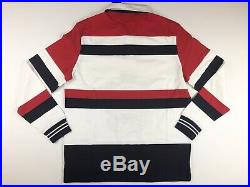 Polo Ralph Lauren L Mens Rugby Yacht Club Crest New York Regatta Sailing Shirt