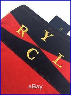 Polo Ralph Lauren M Mens Rugby Yacht Club Crest New York Regatta Sailing Shirt