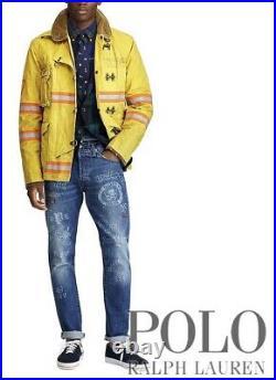 Polo Ralph Lauren Men's Jeans RL67 The Sullivan Slim Varsity Collegiate 36 x 32
