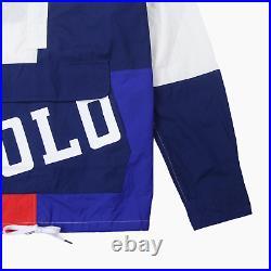 Polo Ralph Lauren Mens Chariots USA Stadium Hooded Lightweight Jacket L BNWT New