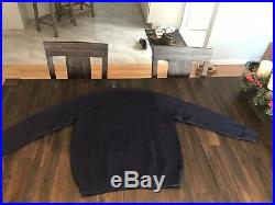 Polo Ralph Lauren Mens Sweater Our Banner of Glory American Flag USA Eagle Sz XL