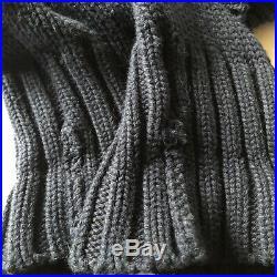 Polo Ralph Lauren USA American Flag Knit Crewneck Sweater Vintage 90s Men's L