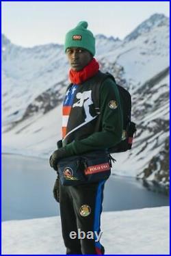 Polo Ralph Lauren USA Flag Cookie Ski 92 Skier Downhill Sweatshirt Sweater CP 93