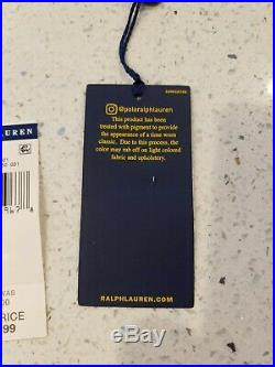 Polo Ralph Lauren USA US RL Flag American Military Army Canvas Jacket Mens
