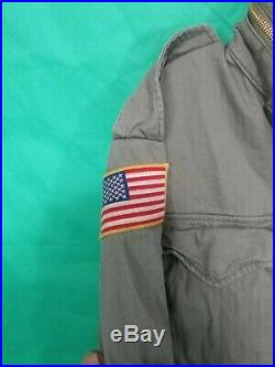 Polo Ralph Lauren Unisex Military Army American Flag Jacket Lg Nwt Msrp $229