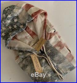 Ralph Lauren Denim & Supply Men's AMERICAN FLAG Zip Sweatshirt Jacket USA Sz XS