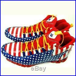 Reebok Harlem Globetrotters 3 Zigescape USA FLAG Mens 13 Basketball Shoes J Wall