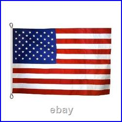 STRONG COMMERCIAL US AMERICAN FLAG 12X18 ft 2-PLY REINFORCED CORNERS WINDSTRONG