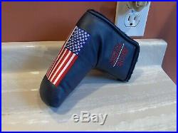 Scotty Cameron 9/11 American Flag Stripes USA Ryder Cup Putter Cover & Pivot