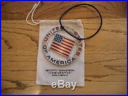 Scotty Cameron Titleist USA American Flag Ryder Cup Bag Tag Rare New PGA