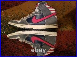 Size 10.5 Nike SB Dunk Born In The USA Bruce Springsteen American flag