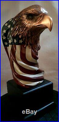 The Amazing EAGLE w American Flag BUST 10 for Captain America statue companion