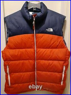 The North Face Mens RU 14 Puffer 700 Down Vest 2014 Size XL
