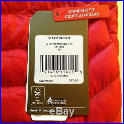 The North Face Thermoball International Collection Winter Jacket Men's M USA