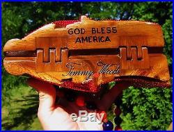 Timmy Woods Patriotic USA Flag American Election Purse Swarovski Crystal Clutch