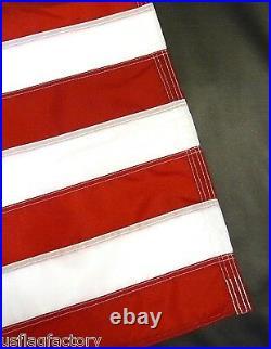 US Flag Factory 2.5 x 4 Foot US AMERICAN FLAG Outdoor SolarMax Nylon Flag (9254)