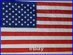USA 8x12' Flag New Us Made Sewn Nylon Huge American