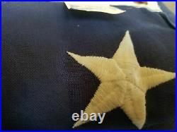 USA American Veteran Flag Wood Display Case withCasket Flag 5' x 8