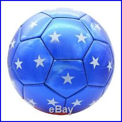 USA Soccer Ball with American Flag Official Size No. 5 (WHOLESALE BULK LOT OPTION)
