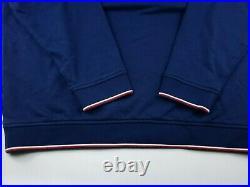Vineyard Vines Half Zip Red White Blue USA American Flag Mens Pullover Sweater