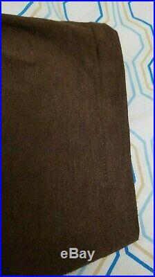 Vintage 70s Harley Davidson #1 Eagle American Flag T Shirt Brown Medium Small