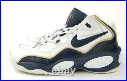 Vintage 90s NIKE Air Flight 96 Olympics OG Basketball Shoes (130267-141) Size 11