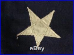 Vintage Betsy Ross 13 Star Historical Society 3x 5 USA Flag Stitched Stripes