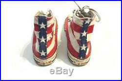Vintage Converse Chuck Taylor American Flag Made In USA Size 9