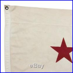 Vintage Cotton California Republic Bear USA American State Flag Old Cloth Large