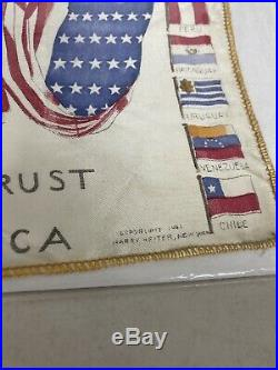 Vintage Flag American U. S. 1941 Harry Heiter New York