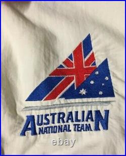 Vtg 90s Australian National Race Team Colorblock Jacket L Sport Sailing Nautical
