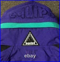 Vtg 90s Helly Hansen Equipe Colorblock Ski Jacket L Snowboard Sport ACG 80s