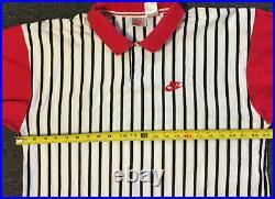 Vtg 90s Nike Supreme Court Polo Shirt XL Sport ACG Andre Agassi Tennis Rap 80s