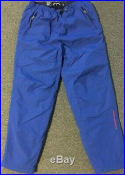 Vtg 90s Polo Sport Flag Snow Pants XL Spellout Ski Snowboard Insulated Skiing 92